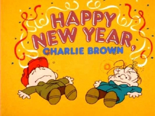 Happy New Year Charlie Brown on DVD 1986