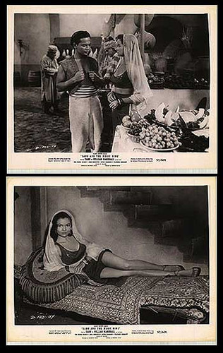 Sabu and the magic ring Presented in Black and White on DVD