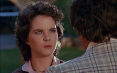 Starring Melissa Sue Anderson (from Little House on the Prairie)