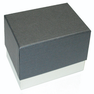 Classic Dark Grey Watch Box with Pillow