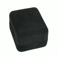 Black Rayon Box with Ring Foam Insert