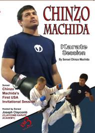 CHINZO MACHIDA Karate Session  by Chinzo Machida