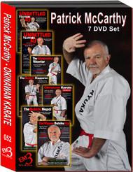 MASTERCLASS SERIES OKINAWAN KARATE Patrick McCarthy (Hanshi) 7 DVD Set By Patrick McCarthy Hanshi