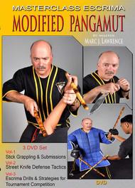 MASTERCLASS ESCRIMA MODIFIED PANGAMUT (DVD SET Vol-1, 2 & 3) By Master Marc J. Lawrence