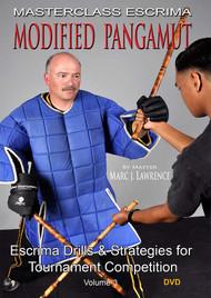 MASTERCLASS ESCRIMA MODIFIED PANGAMUT (DVD SET Vol-3) By Master Marc J. Lawrence