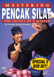 MASTERING PENCAK SILAT - 5 DVD SET!!! By Herman Suwanda