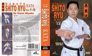 Karate Shito Ryu Kata  DVD Set Vol-1-5 By Kunio Miyake