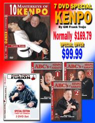 SPECIAL OFFER 7 DVD Set SPECIAL By Grandmaster Frank Trejo