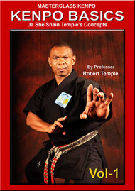 MASTERCLASS KENPO KENPO BASICS Vol-1 Ja She Shain Temple's Concepts By Professor Robert Temple