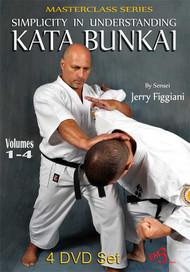 SIMPLICITY IN UNDERSTANDING KATA BUNKAI (4 Volume Set)- By Sensei Jerry Figgiani