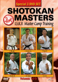 SHOTOKAN MASTERS (DVD Set) I.S.K.F MASTER CAMP TRAINING (SPECIAL 3 DVD SET)