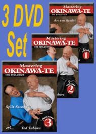 OKINAWA-TE By Ted Tabura (All 3 DVD's Vol-1,2 & 3)
