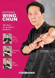 MASTERING WING CHUN Vol. 1-2-3 (3 DVD Set)