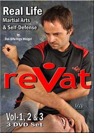 reVat - 3 DVD Set Real Life Martial Arts & Self Defense by Dai-Sifu Ingo Weigel
