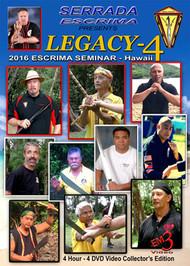 SERRADA ESCRIMA LEGACY-4  (Hawaii Seminar)