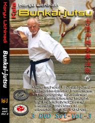 SPECIAL - ALL 3 DVD Sets (9 Discs) 1. Tsuki-naka Kata (3 DVD Set) 2. Futari-geiko (3 DVD Set) 3. Bunkai-jutsu (3 DVD Set)