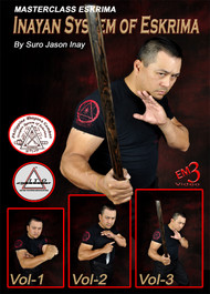 MASTERCLASS ESKRIMA Inayan System of Eskrima Vol-1, 2 & 3 By Suro Jason Inay