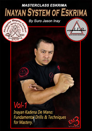 SAVE 20% via Video DOWNLOAD Vol-1 Item PLDZ-290 US  $24.00   MASTERCLASS ESKRIMA Inayan System of Eskrima Vol-1 By Suro Jason Inay