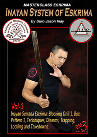 Inayan System of Eskrima Vol-3 By Suro Jason Inay