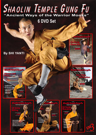 MASTERCLASS SERIES SHAOLIN TEMPLE GUNG FU SERIES Ancient Ways of the Warrior Monks 6 DVD Set