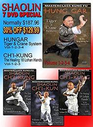 Shaolin 7 DVD Special - Hungar & Ch'i Kung by Sifu Seng Jeorng Au