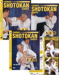 COMBAT SHOTOKAN KARATE VOL.1,2,3,4,5 (5 DVD Set)