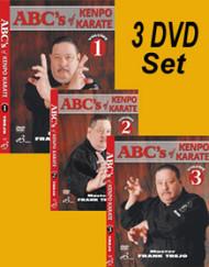 ABC'S OF KENPO KARATE VOL-1-2-3 SET