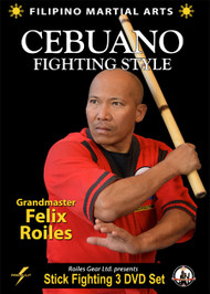 FILIPINO SEBUANO STICK FIGHTING Series (3 DVD Set) By Felix Roiles
