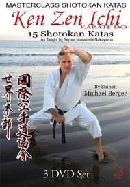 15 Shotokan Katas - Ken Zen Ichi  (Vol-1, 2 & 3)