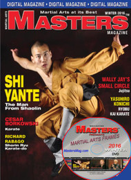 2016 WINTER ISSUE MASTERS MAGAZINE & FRAMES VIDEO