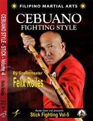 FILIPINO SEBUANO STICK FIGHTING STYLE Vol-5