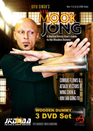 MR. MOOK JONG - WOODEN DUMMY - (VOL-1-2-3)