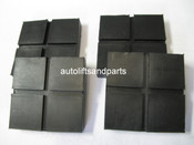 Rubber Lift Arm Pads for Globe / Ford Smith Lift Set 4