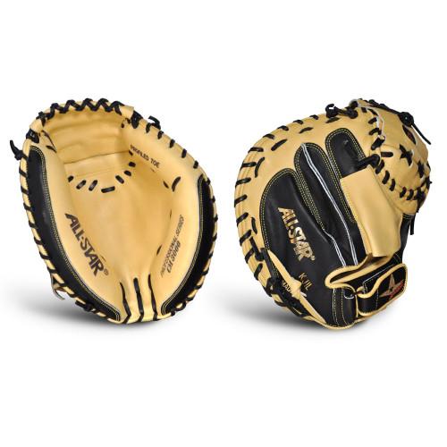 All-Star Pro-Elite 33.5 Inch CM3000SBT Baseball Catcher's Mitt