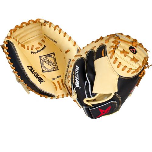 All-Star Pro-Advanced 33.5 Inch CM3100SBT Baseball Catcher's Mitt