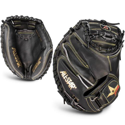 """All-Star Pro-Elite 33.5"""" CM3000SBK Baseball Catchers Mitt"""