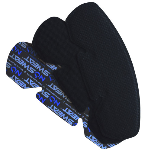 NoSweat Disposable Sweat Absorber For Hats, Helmets And Other Headwear - 3 Pack