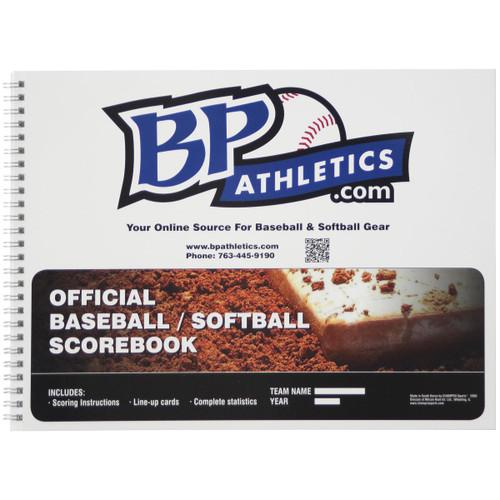 BP Athletics Official 18 Player Baseball/Softball Scorebook