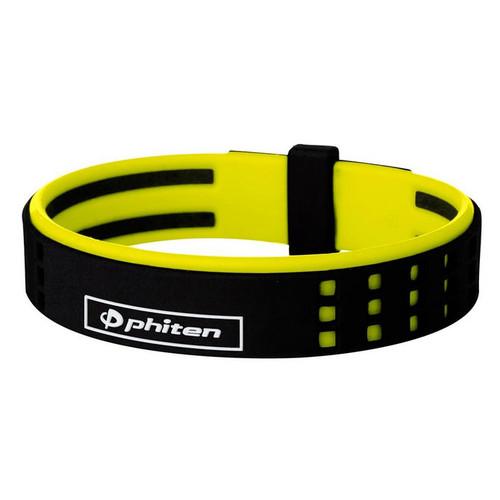 Phiten DUO S-Pro Silicone Titanium Bracelet