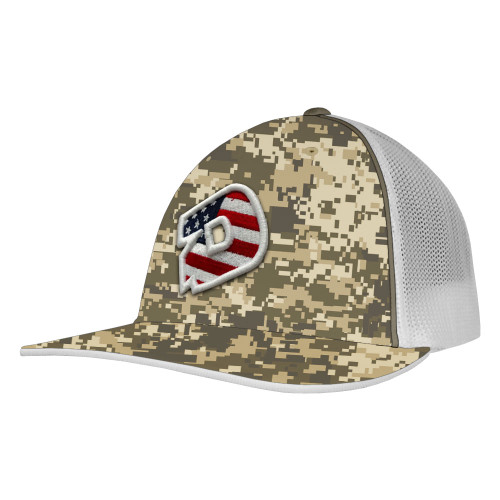 DeMarini D Logo Camo Baseball/Softball Trucker Hat