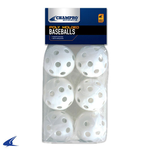 Champro 9 Inch Poly Baseballs