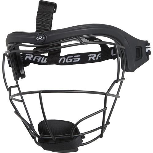 Rawlings Junior Lightweight Wire Softball Fielders Mask (RSBFMJ) - Black