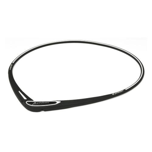 Phiten Cross-Type Silicone Titanium Necklace