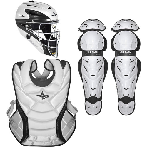 All-Star Vela Pro 2-Tone Intermediate Women's Fastpitch Catcher's Set