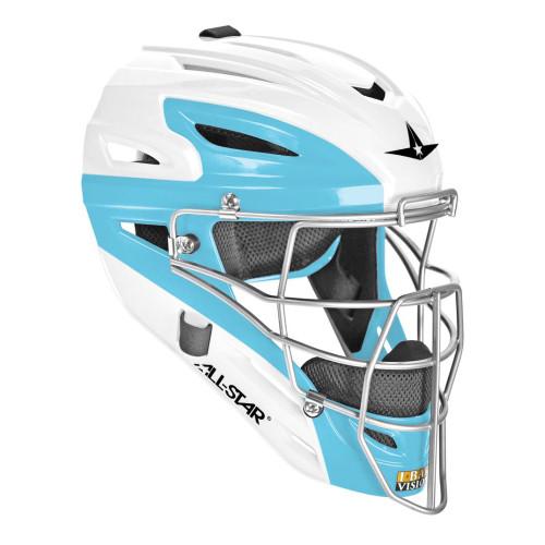 All-Star System Seven Two-Tone Adult Catcher's Helmet (MVP2500TT)