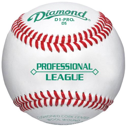 Diamond D1-PRO DS Professional Diamond Seam Baseballs - Dozen