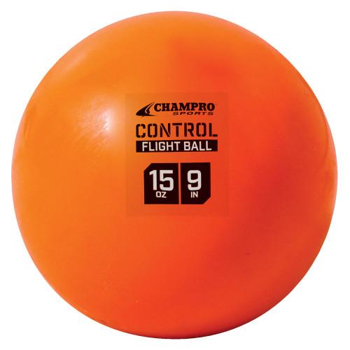 Champro 9 Inch Weighted Control Flight 15oz Training Baseballs - 4 Balls