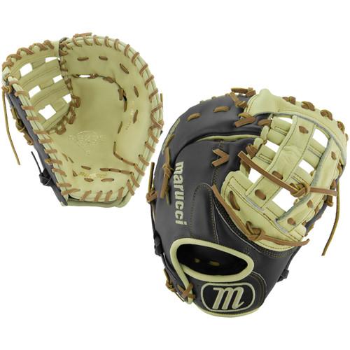 Marucci RS225 Series 12.5 Inch MFGRS125FB-BK/MS Baseball First Base Mitt