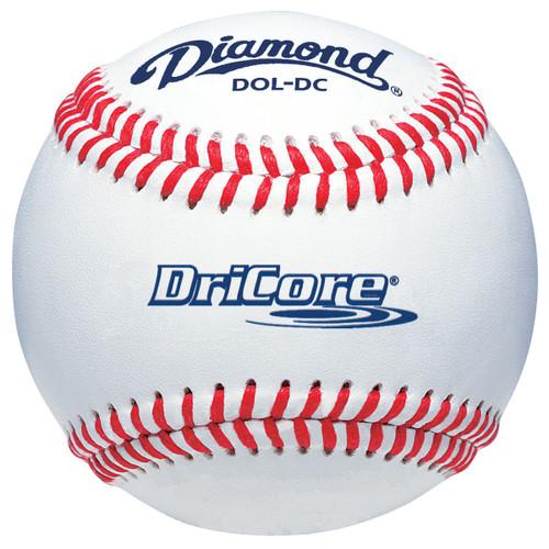Diamond DOL-DC DriCore Wet Weather Baseballs - Dozen