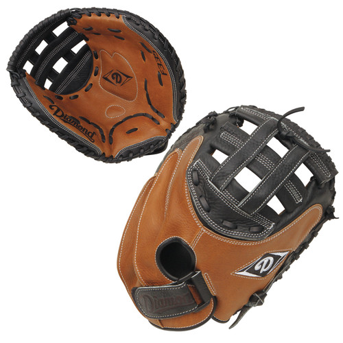 Diamond F335 33.5 Inch DCM-F335 Fastpitch Softball Catcher's Mitt